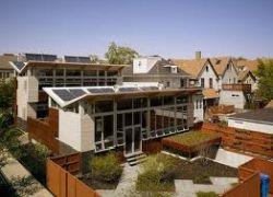 Casa Libre de la red de suministro de energía