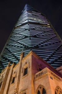 Torre Reforma by Alfonso Merchand exterior nocturna}